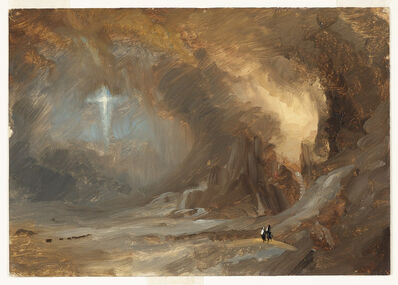 Frederic Edwin Church, 'Vision of the Cross', 1847