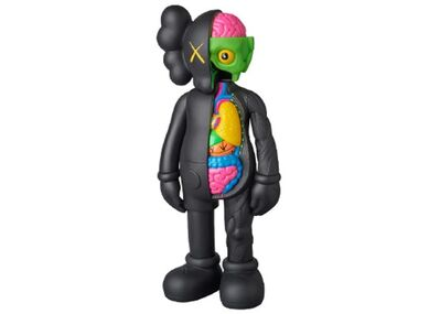 KAWS, 'Kaws Companion Flayed Black (Open Edition)', 2017