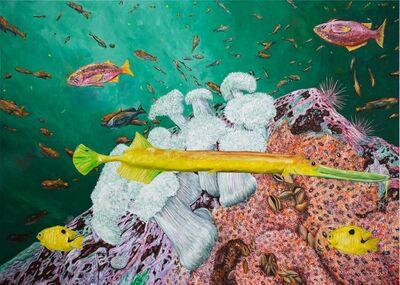 Doug Argue, 'Untitled (Upside-Down Fish)', 2021