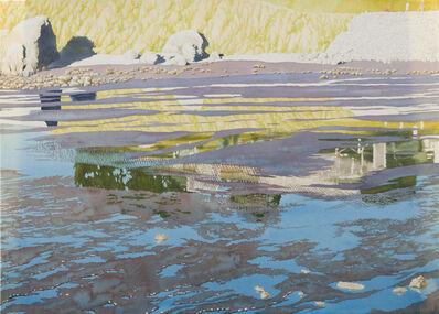 Ben Norris, 'Reflections II [Marin Mud Flat]', 1994