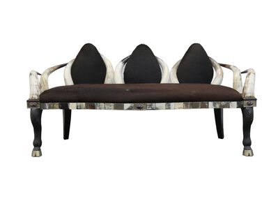 Anthony Redmile, 'A late 20th century horn sofa'
