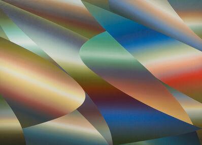 Samia Halaby, 'No 273', 1974