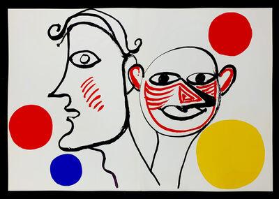 Alexander Calder, 'Derriere Le Miroir No. 221, 2 sided double page lithograph', 1976