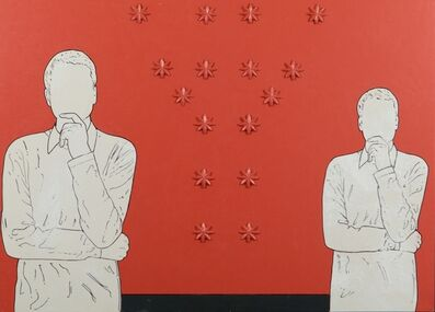 Renato Mambor, 'Renato pensieroso', 2006