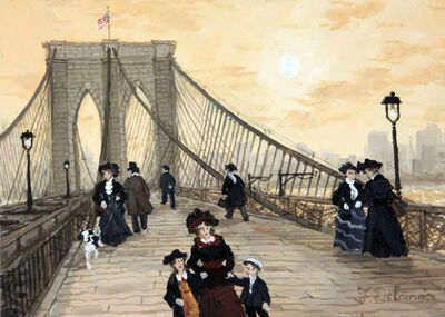 Fabienne Delacroix, 'Brooklyn Bridge '