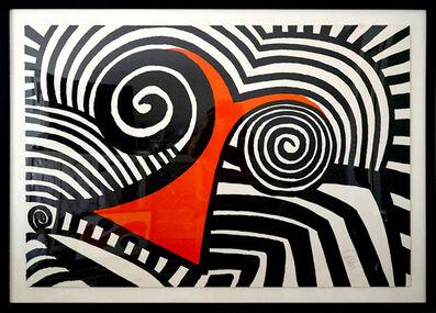 Alexander Calder, 'Red Nose  ', 1969
