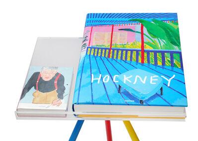 David Hockney, 'A Bigger Book, a hard cover sumo book'