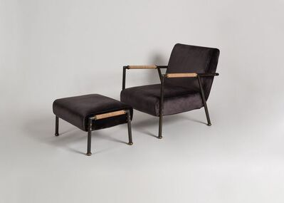 Pinto Paris, 'Lodge, Contemporary Armchair and Ottoman', 2015