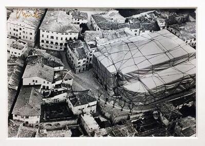 Christo, 'Teatro nuovo Spoleto', 1968