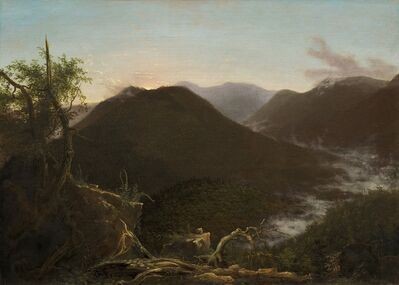 Thomas Cole, 'Sunrise in the Catskills', 1826