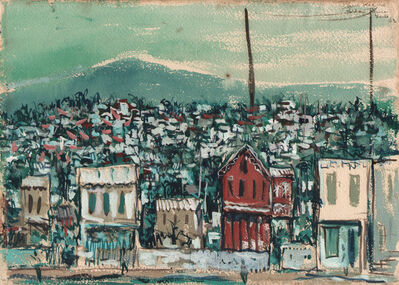 Paul Keene, 'Houses Port Au Prince ', 1952