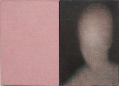 Robert Bosisio, 'kopf + rosa', 2015