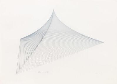 Agnes Denes, 'Probability Pyramid I', 1978