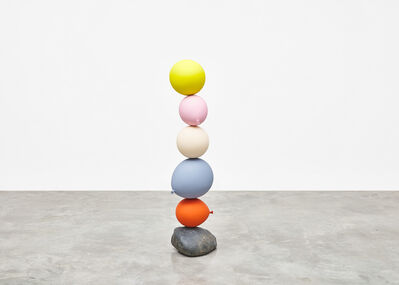 Gimhongsok, 'Untitled (Short People), Yellow, Pink, Cream, Blue, Orange', 2018