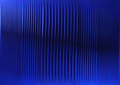 Pino Manos, 'Sincronicità armonica evento blu', 2017