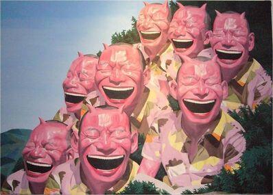 Yue Minjun, 'Call from Mountains Far Away', 2006