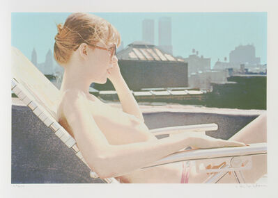 Hilo Chen, 'Rooftop Sunbather from the City Scapes Portfolio', 1981