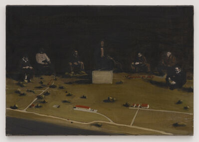 Michaël Borremans, 'Trickland (part two)', 2002