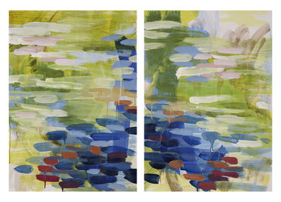 Ginny Sykes, 'Horizontal Diptych II'