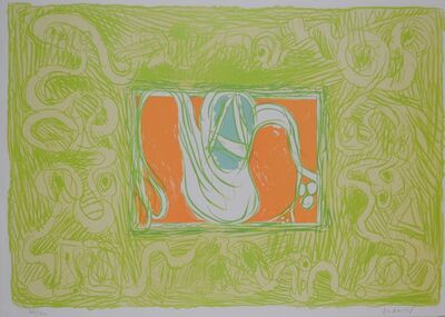 Pierre Alechinsky, 'Shrimp and Salad (Crevette et salade)', 1969