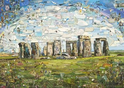 Vik Muniz, 'Stonehenge', 2015