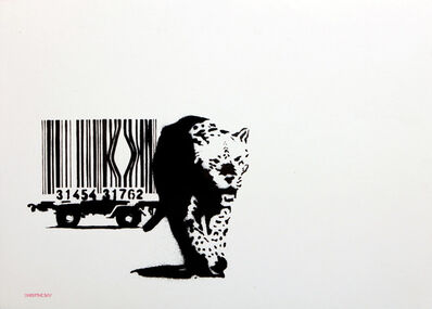 Banksy, 'Barcode (Unsigned)', 2003