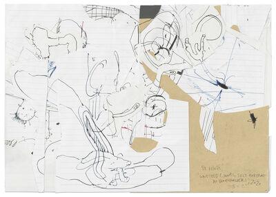 Stefanie Heinze, 'Untitled (Junks, Self-portrait as Bonechewer), Untitled (Conjunction of II)', 2020