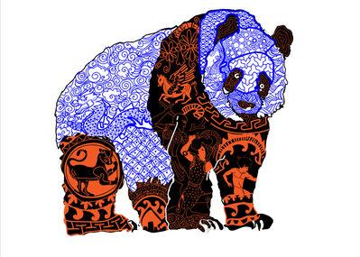 Roberto Lugo, 'Panda: Eats Shoots And Leaves', 2017