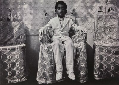 Barnábas Bosshart, 'Testa di Divino Mumbasa, 1987'
