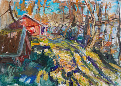 Ulrich Gleiter, 'Colorful morning (Spring in southern Finland)', 2020