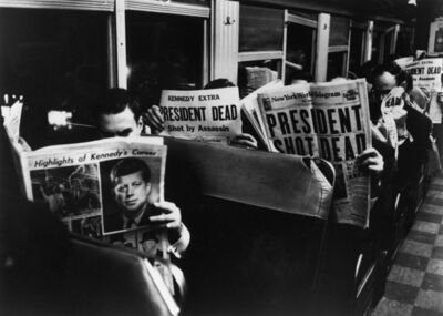 Carl Mydans, 'On the 6.25 from Grand Central to Stamford ', 1963