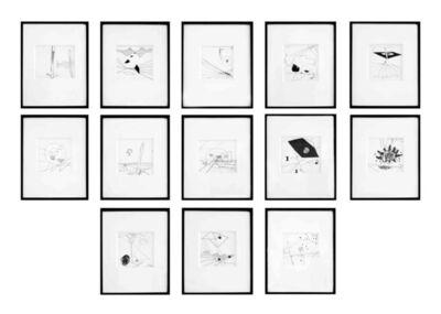 Roberto Matta, '13 drawings ', 1941