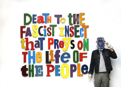 David Buckingham, 'Symbionese Liberation Army Slogan', 2017