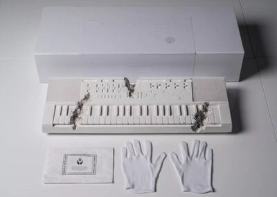 Daniel Arsham, 'Future Relic 09: Keyboard (first edition)', 2018
