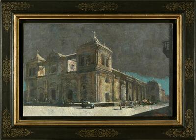 Armando Morales, 'Catedral de Leon de Nicaragua', 1991