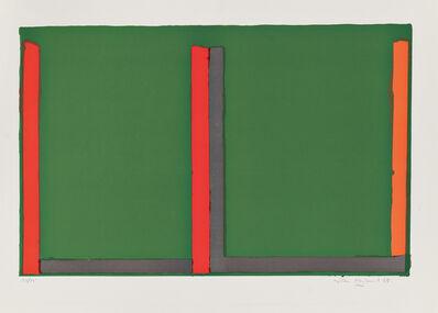 John Hoyland, 'Large Green Swiss', 1968