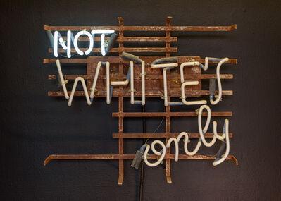 James Hannaham, 'Not White's Only', 2021