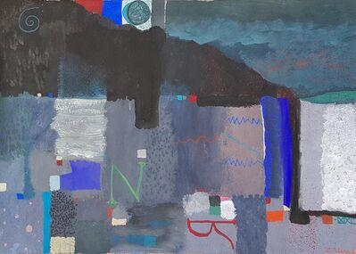 Carlos Pellicer, 'Estudio para Paisaje de Normandía', 1999