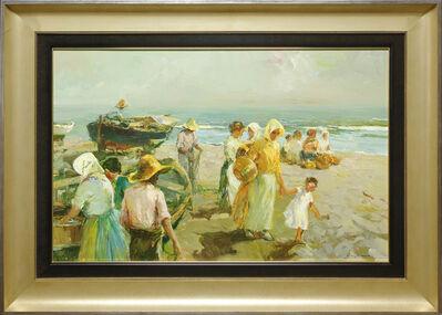 Giner Bueno, 'Pescadoras', 2018