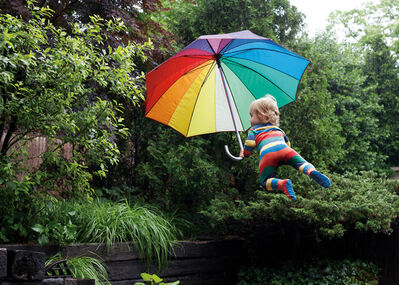 Rachel Hulin, 'Rainy Day Flight', 2012