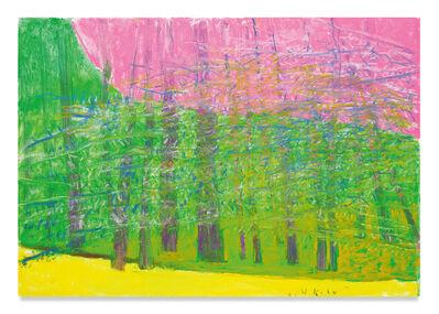 Wolf Kahn, 'Pink Sky', 2018