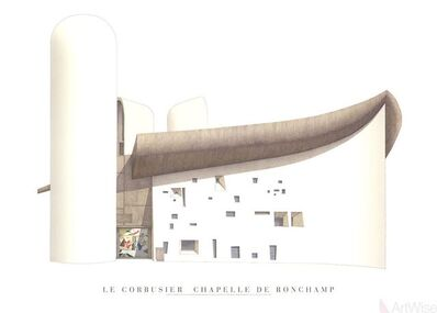 Le Corbusier, 'Chapelle de Ronchamp', (Date unknown)