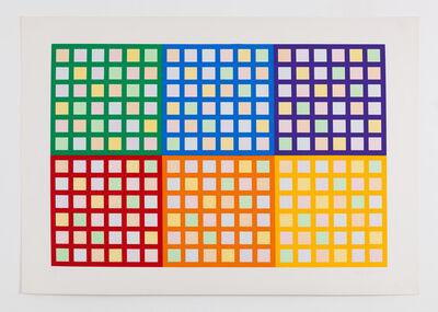 Fausta Squatriti, '6 Interferenze Cromatiche', 1982
