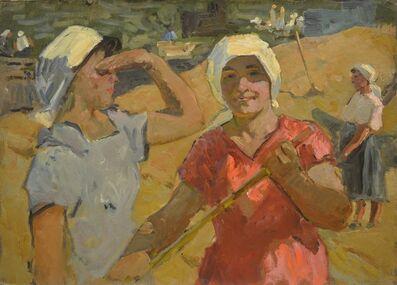 Aleksey Ivanovich Borodin, 'Two Valentinas', 1965