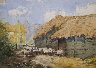 John Arthur Dees, 'In Cambridgeshire', ca. 1915