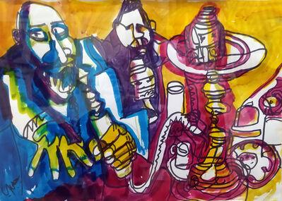 Bahgory George, 'Egyptian Coffee Shop ', 1975-1985
