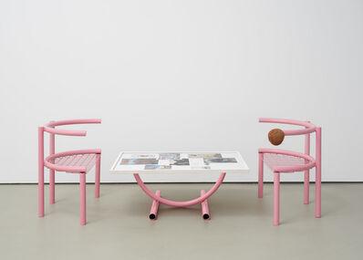 David Renggli, 'Sitzmöbel (seating furniture / scare scrow ensemble)', 2020
