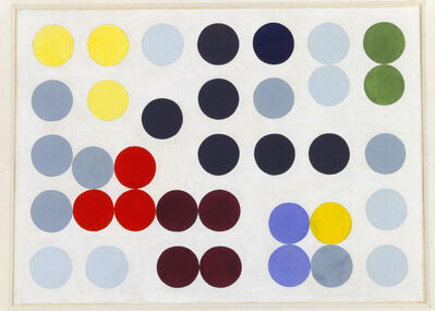 Sophie Taeuber-Arp, 'Komposition mit Kreisen', 1934-1938