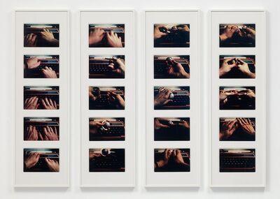 Alexis Hunter, 'Secretary Sees The World', 1978