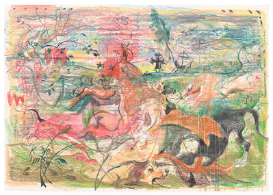 Cecily Brown, 'Untitled (The Calls of the Hunting Horn)', 2019